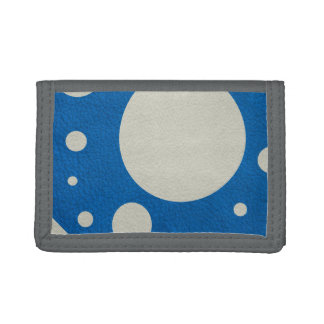 Lapis Scattered Spots on Stone Leather Texture Wallet