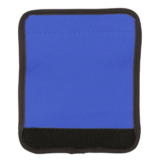 Lapislázuli azul rico profundo azul persa del añil cobertura para asa de maleta