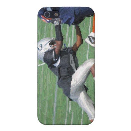lápiz 2 del fútbol iPhone 5 cárcasas