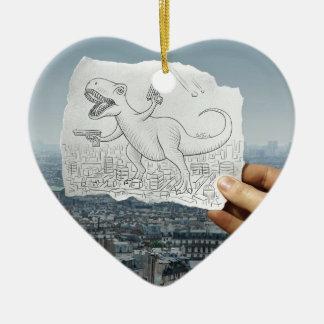 Lápiz contra la cámara - Dino Ornamentos De Reyes