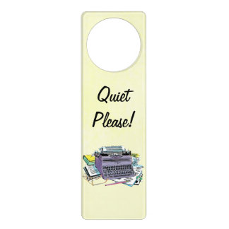 Lápiz del papel de máquina de escribir de las herr colgador para puerta