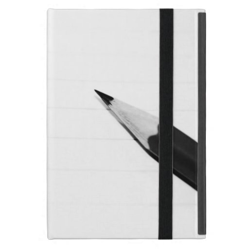 Lápiz en una cubierta del cuaderno iPad mini cárcasas