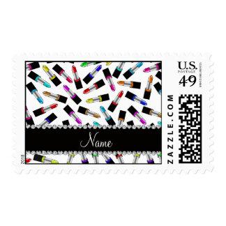 Lápiz labial blanco conocido personalizado del sellos