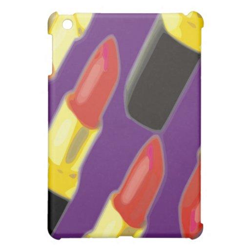Lápiz labial (fondo púrpura)