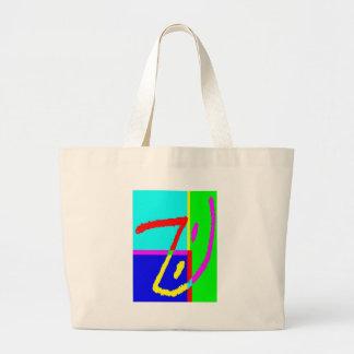 Lápiz M del poste Bolsa Lienzo