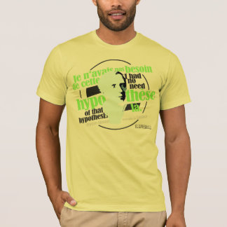 LaPlace (colorful typography version) T-Shirt