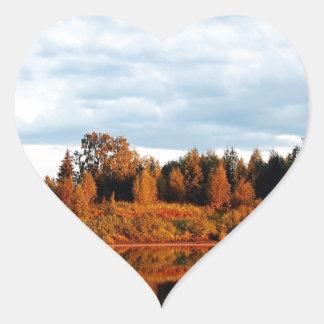 lapland-1391 heart sticker