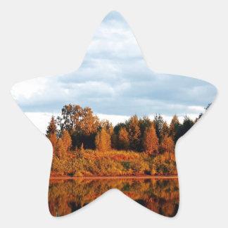 lapland-1391 star sticker