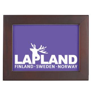 LAPLAND custom color keepsake box