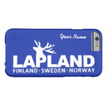 LAPLAND custom color & monogram cases Barely There iPhone 6 Case
