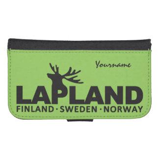 LAPLAND custom monogram cases Galaxy S4 Wallet