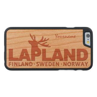 LAPLAND custom monogram cases Carved® Cherry iPhone 6 Case