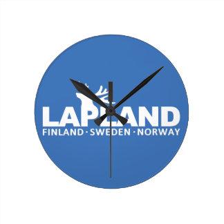 LAPLAND custom wall clock