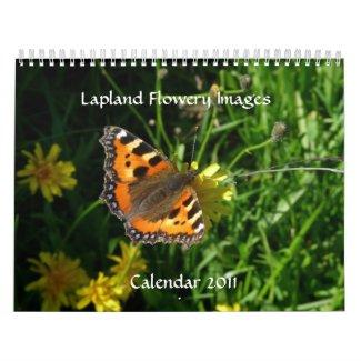 Lapland Flowery Images Calendar 2011 calendar