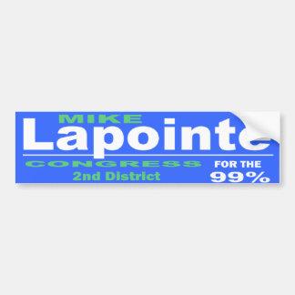 Lapointe For Congress 2014 Campaign Bumper Sticker