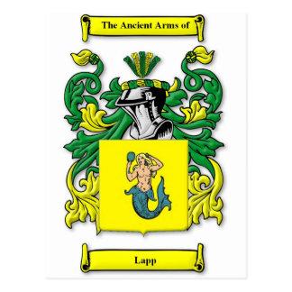 Lapp Coat of Arms Postcard