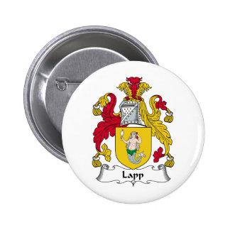 Lapp Family Crest Buttons