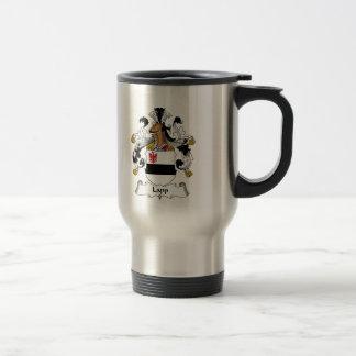 Lapp Family Crest 15 Oz Stainless Steel Travel Mug