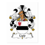 Lapp Family Crest Post Cards
