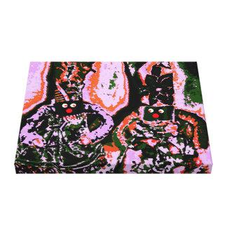 Lappenpop Rag Doll Canvas Print
