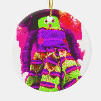 Lappenpop Rag Doll Ceramic Ornament