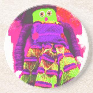 Lappenpop Rag Doll Drink Coaster