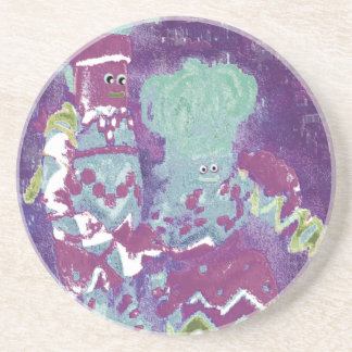 Lappenpop Rag Doll Beverage Coaster