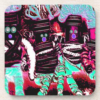 Lappenpop Rag Doll Coasters
