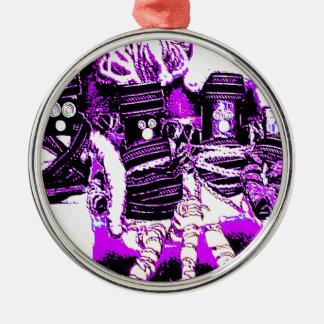 Lappenpop Rag Doll Metal Ornament