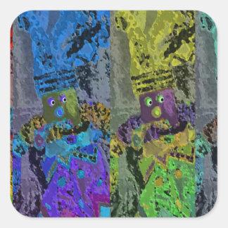 Lappenpop Rag Doll Square Sticker