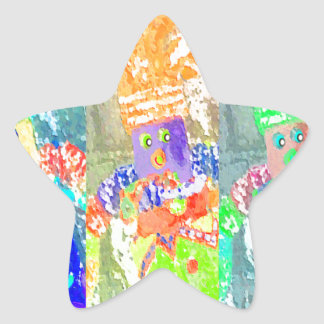 Lappenpop Rag Doll Star Sticker