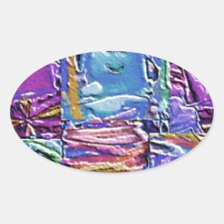 Lappenpop Rag Doll Oval Sticker
