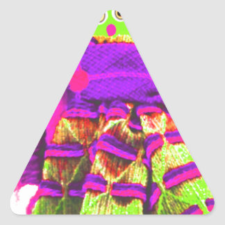 Lappenpop Rag Doll Triangle Sticker