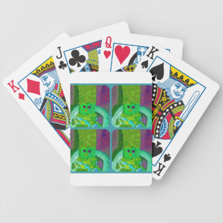 LAPPENPOP - SPINDEROK - RAG DOLL green 1.png Bicycle Playing Cards