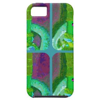 LAPPENPOP - SPINDEROK - RAG DOLL green 1.png iPhone SE/5/5s Case