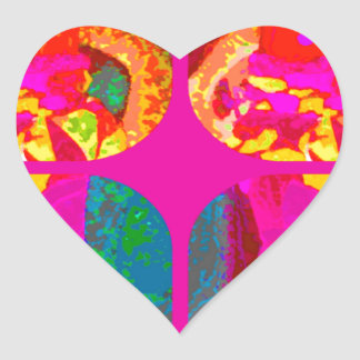 LAPPENPOP - SPINDEROK - RAG DOLL -MAGENTA - 1.png Heart Sticker
