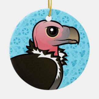 Lappet-faced Vulture Ceramic Ornament