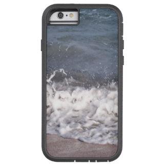 Lapping de la onda en la playa funda para  iPhone 6 tough xtreme