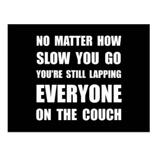 Lapping The Couch Postcard