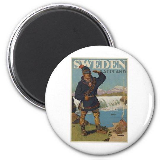 Lappland Sweden Magnet