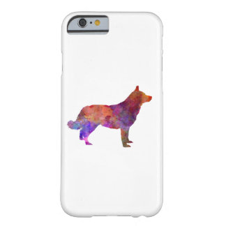 Lapponian Herder in watercolor Barely There iPhone 6 Case