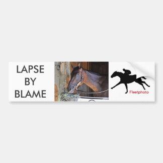 Lapse by Blame Bumper Sticker