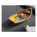 Lapstrake Boat Reflections Print Photo Print