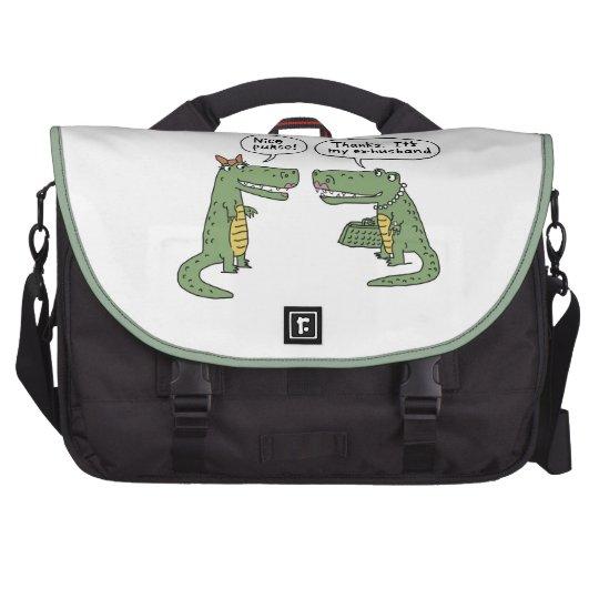 "Laptop bag ""My ex-husband"""