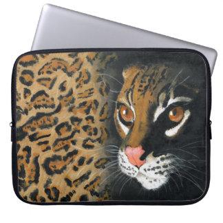 Laptop bag - ocelot painting laptop sleeve