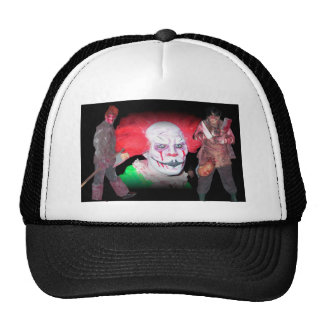 Laptop bag trucker hat