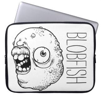 laptop bag with weird face #1 laptop sleeve