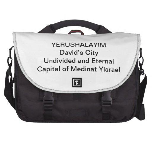 LAPTOP BAG - YERUSHALAYIM David's City