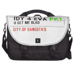 idy 4 eva  Laptop Bags