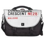 Cunnilingus  crescent  Laptop Bags